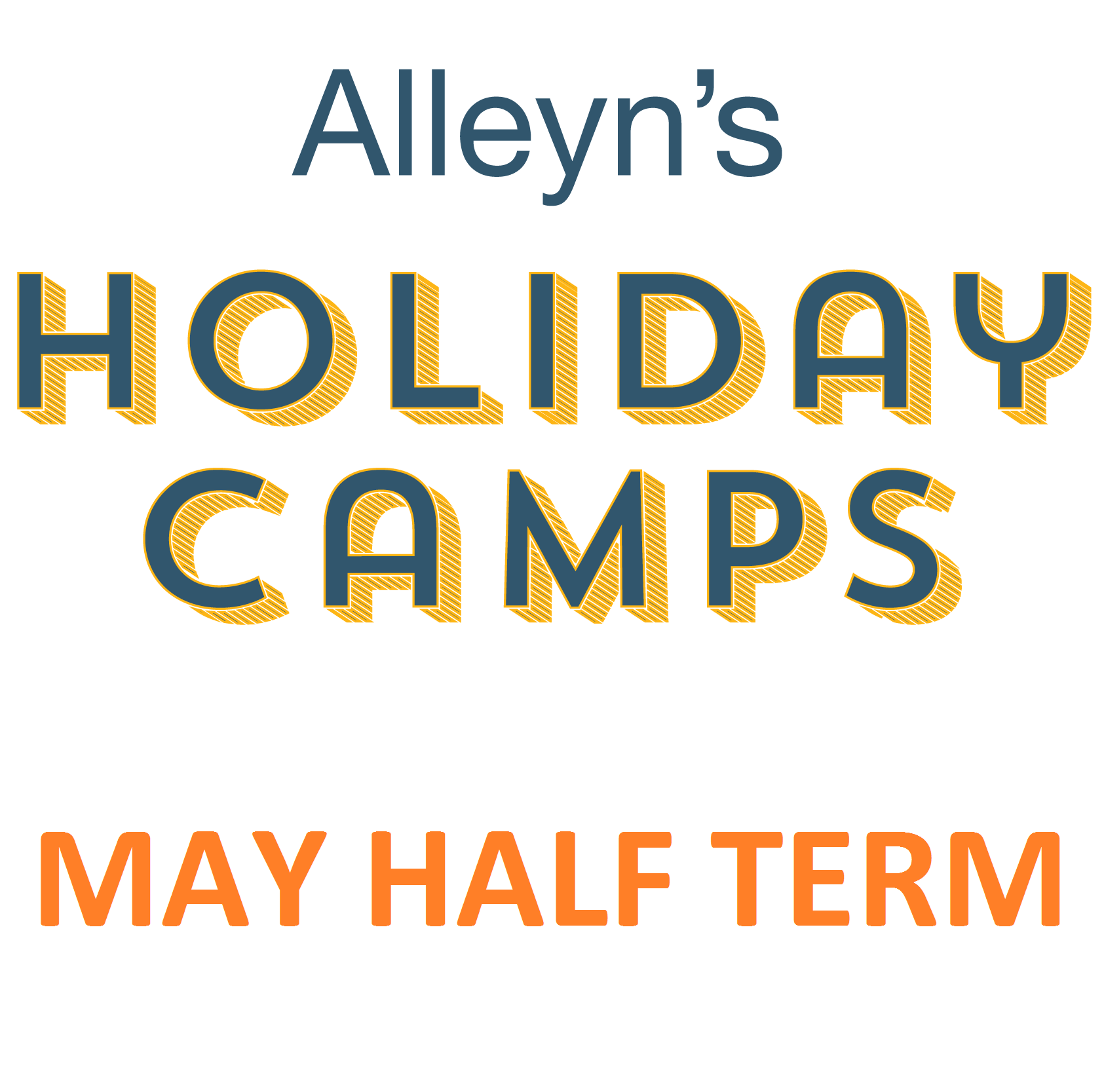 Holiday Camp - Tues 28 to Fri 31 May