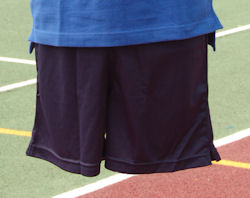 Size 22 / 24  Football Shorts