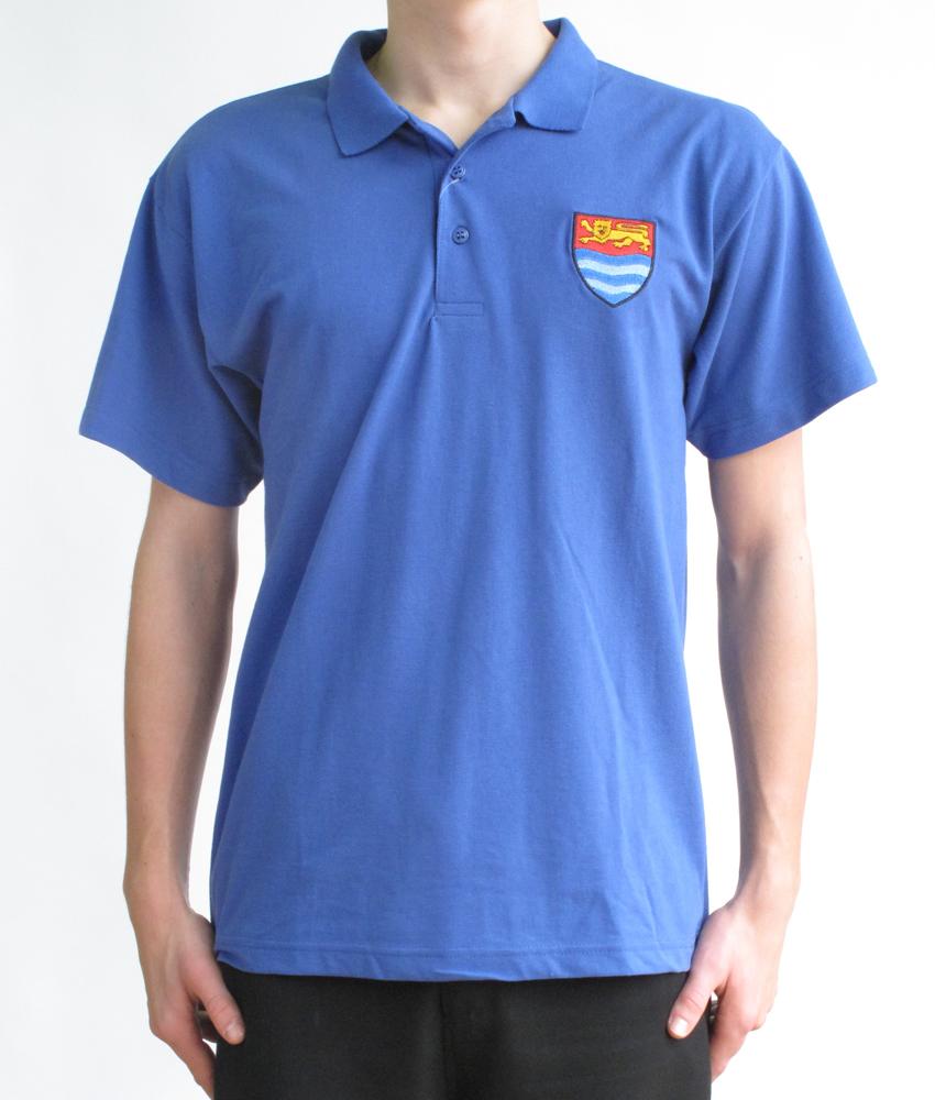 Royal Blue Polo Shirt Template Sis Solutions